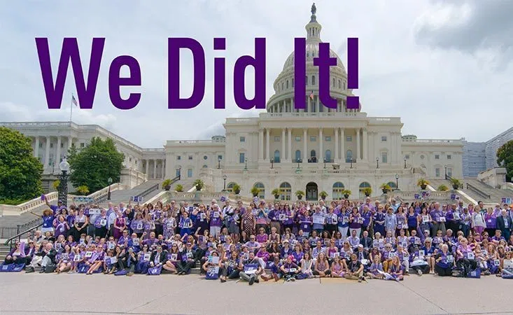 PanCAN DoD fund we did it